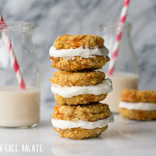 Gluten-Free Carrot Cake Sandwich Cookies Recipe