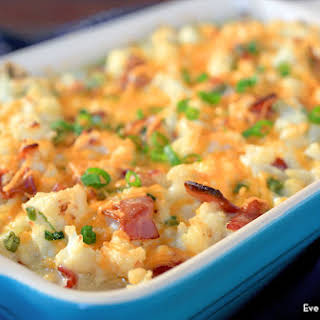 Cauliflower Casserole With Sour Cream Recipes.