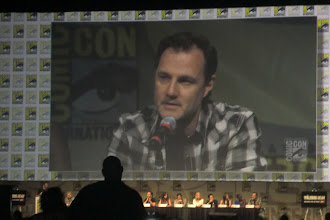 Photo: Friday - The Walking Dead panel; star David Morrissey (The Governor!)