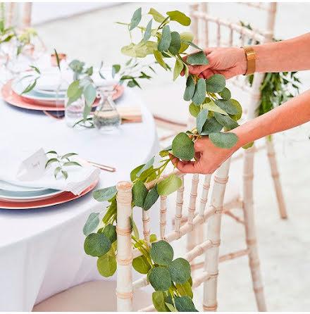Girlang Eucalyptus - Botanical wedding
