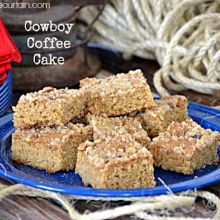 Cowboy Coffee Cake Recipe
