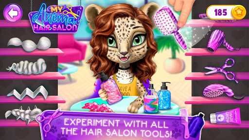 My Animal Hair Salon - Style, Create & Experiment 5.0.8 screenshots 4