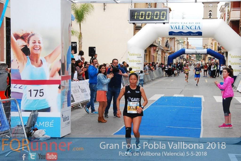 atleta del Gaes Running Team PATRICIA LORENA MONTALVO ITAS