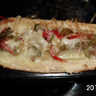Italian Sausage Sub W/peppers & Onions.