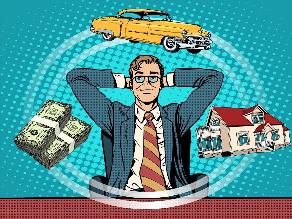 wohlhabender unternehmer