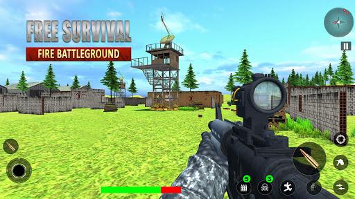 Free Survival Fire Battlegrounds: FPS Gun Shooting  screenshots 1
