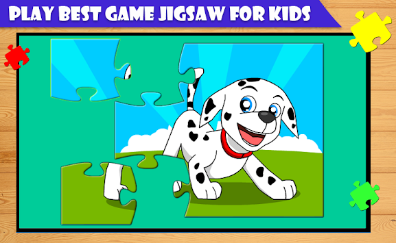Cartoon Kids Jigsaw Puzzle apk screenshot