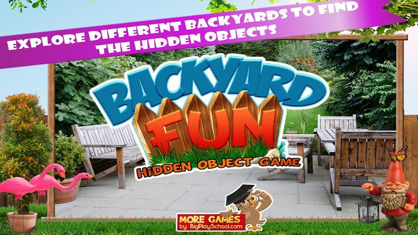 android Backyard Fun New Hidden Object Screenshot 3