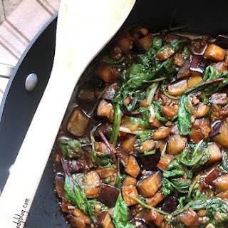 Eggplant Stir Fry.
