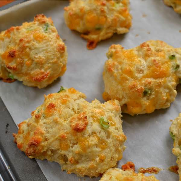 Cheddar Biscuits With Chive Butter Recipe