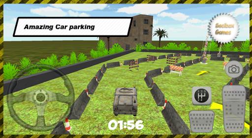 3D军事停车场