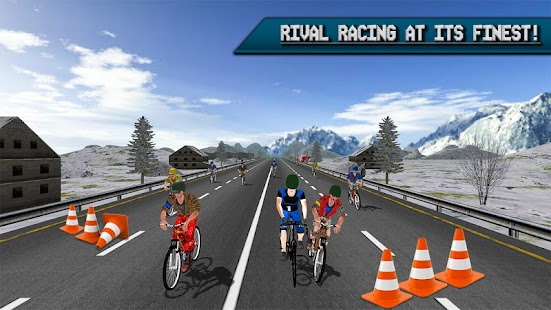 Extreme Bicycle racing 2017- screenshot thumbnail