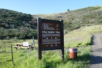 Photo: Stile Ranch Trail entrance