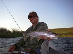 Photo: Rainbow Trout on the Madison- Mad River Outfitters Montana Trip