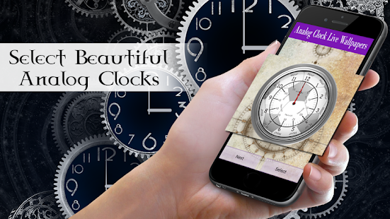Analog Clock New Live WallPaper - náhled