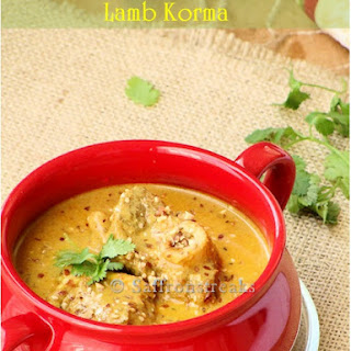 Lamb Korma In Saffron And Almond Sauce