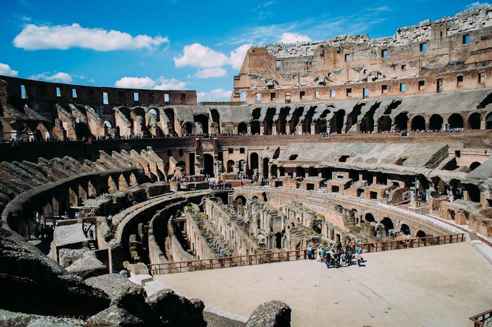 Внутри Колизея, Рим