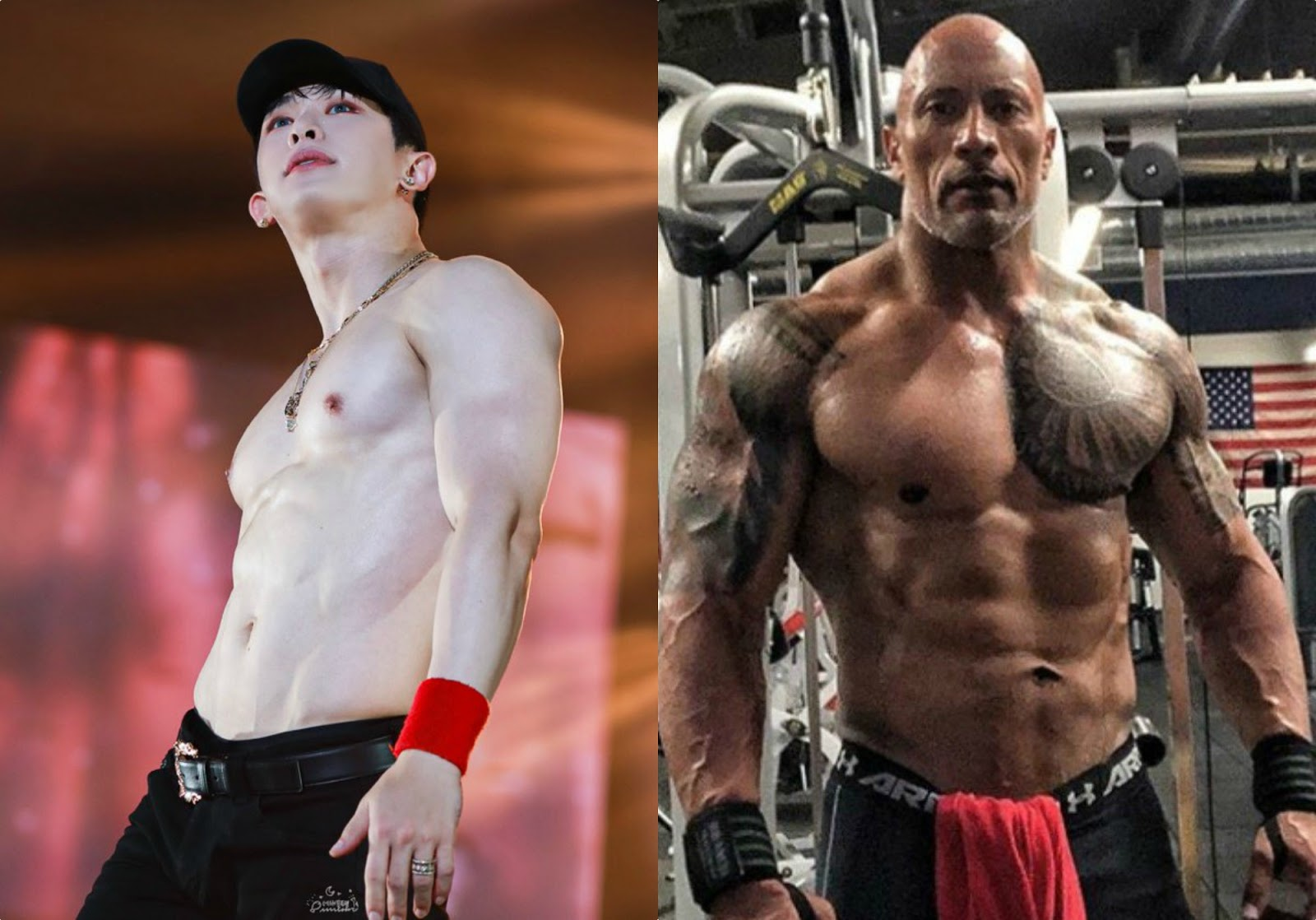 wonho_dwayne johnson_1