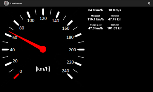 Speedometer screenshot 6