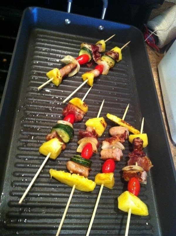 Lay on the hot grill for about 1 minute per side until grill marks...