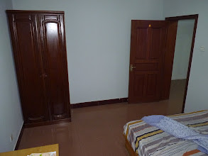 Photo: Beijing - my new warm room with window, AC, desk, bed and one wardrobe after they moved the other to new room, 1500RMB + utilities, photo taken 111201