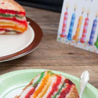 Rainbow Cake.