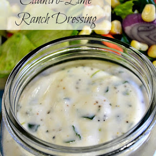 Cilantro-Lime Ranch Dressing