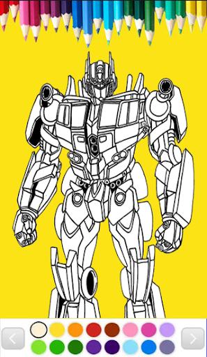 Robots Coloring Page Games 1.0 screenshots 7