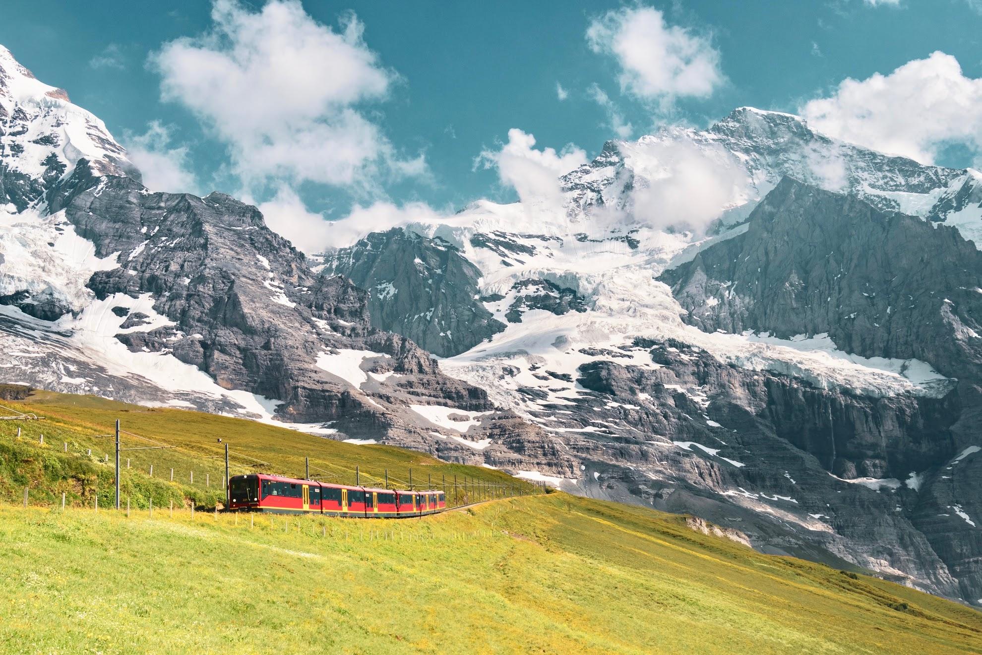 treinroute-zwitserland