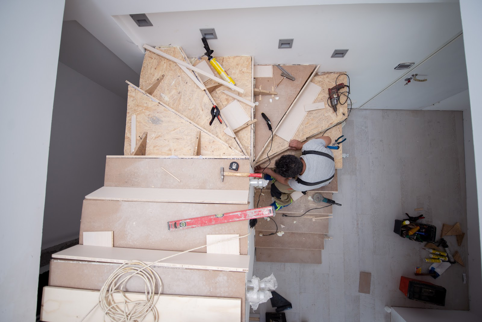 removing a staircase