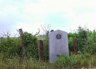 Photo: THC marker - Milam County - Ildefonso