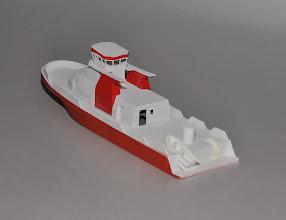 Photo: Prototype of N scale NYC Fireboat 343