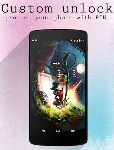 Ladybug Lock Screen wallpapers app (apk) free download for Android/PC/Windows screenshot