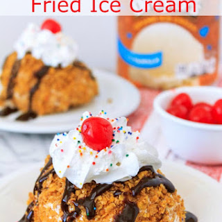 No Fry - Mexican Fried Ice Cream