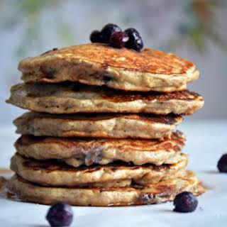 Blueberry Pecan Pancakes.