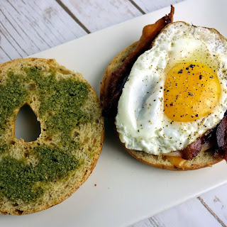 Bagel Breakfast Sandwiches Recipe