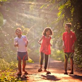morning activities... by Adam Bishawa - Babies & Children Children Candids