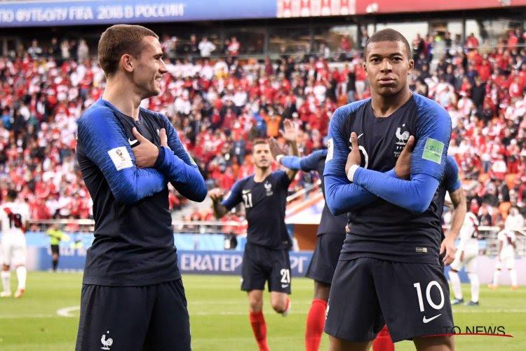 La France sans forcer, le Pérou éliminé