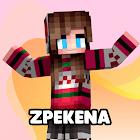 Zpekena Skin for Minecraft