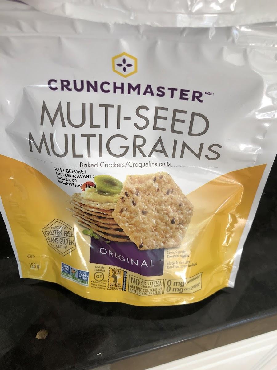 Multi-Seed Multigrain Baked Crackers