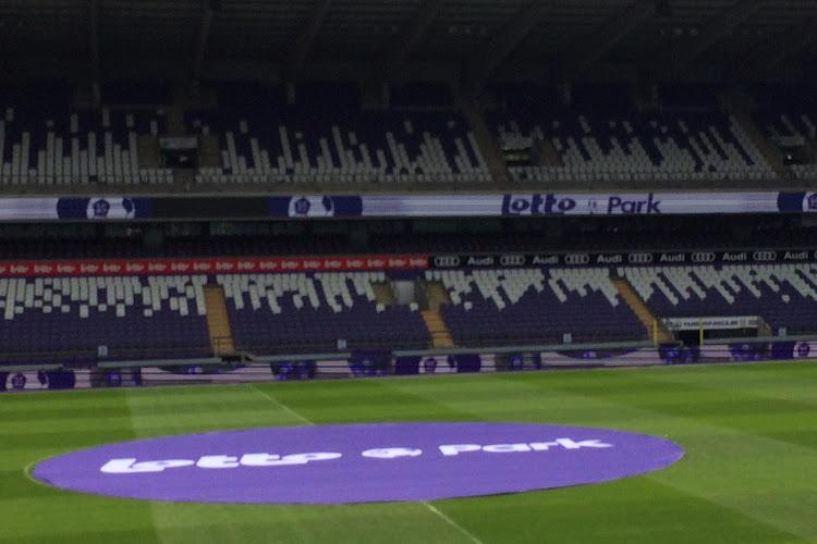Anderlecht a tout prévu pour recevoir moins de specteteurs