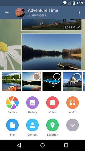 Telegram app (apk) free download for Android/PC/Windows screenshot