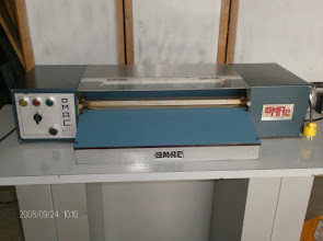 Photo: Omac S-73 folding machine