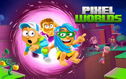 Pixel Worlds : MMO Sandbox - Mondes de pixels  captures d'u00e9cran 1