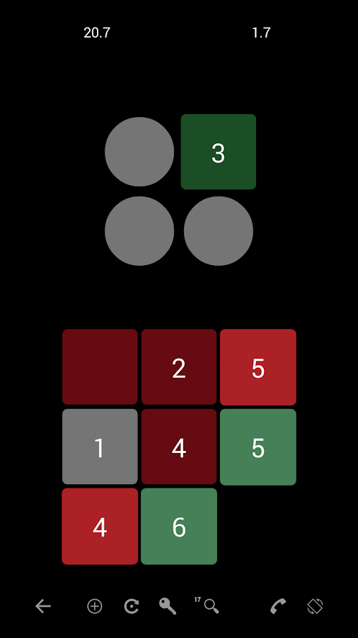 Griddition: Numbers Puzzle