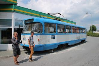 Photo: Tramvajová doprava v Třebíči ;-)