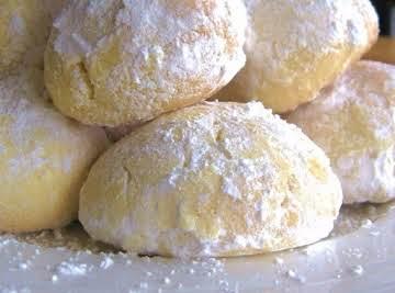 Shortbread Snowballs