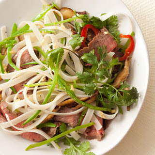 Steak and Noodle Salad
