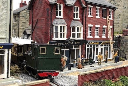 Fantastic recreation of yesteryear's Welshpool