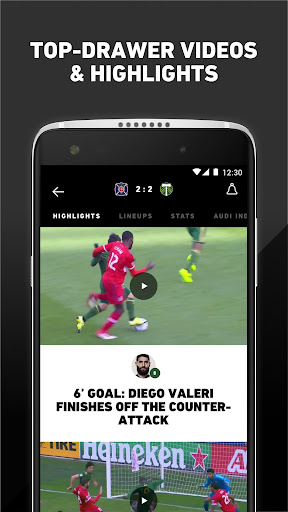MLS: Live Soccer Scores & News 18.66.2 screenshots 5